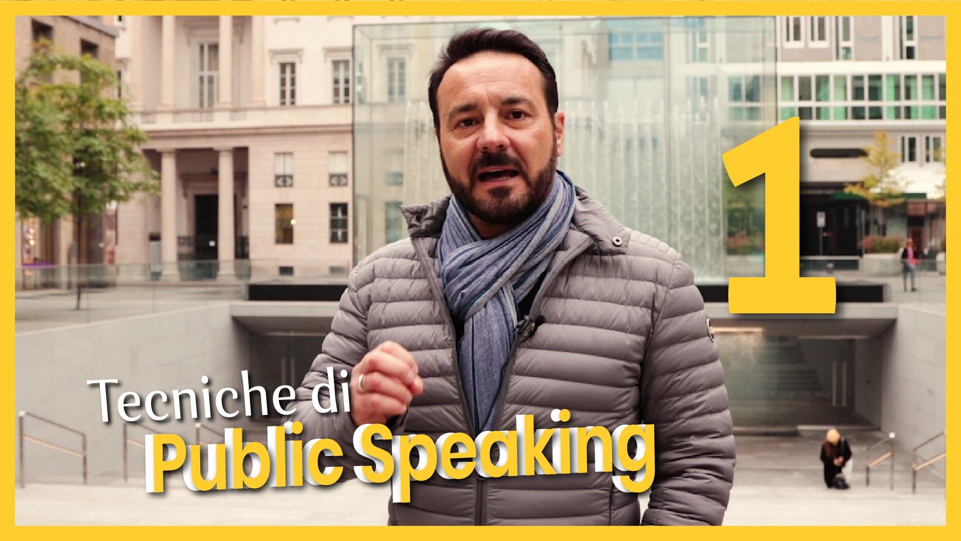Tecniche di Public Speaking 1
