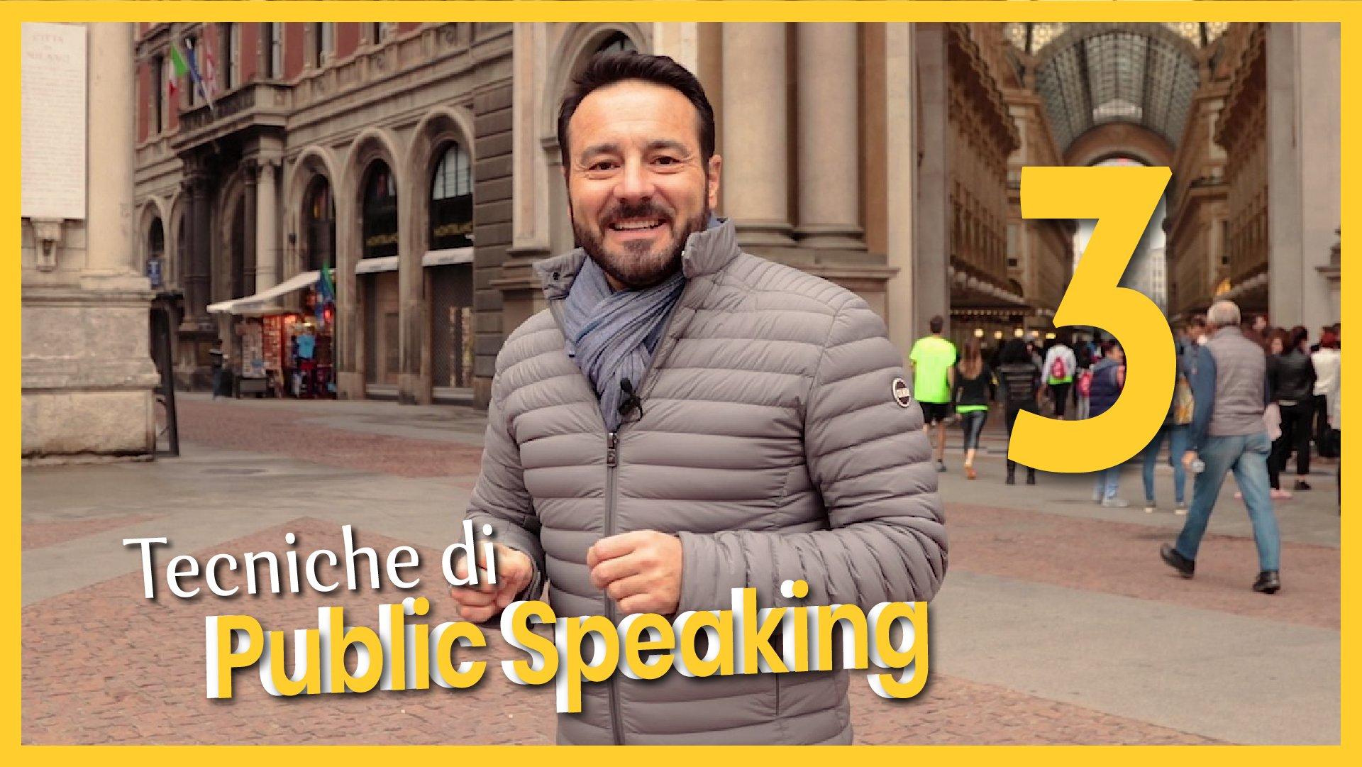 Tecniche di Public Speaking 3