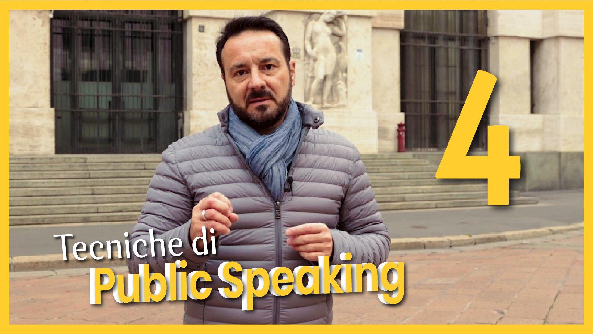 Tecniche di Public Speaking 4