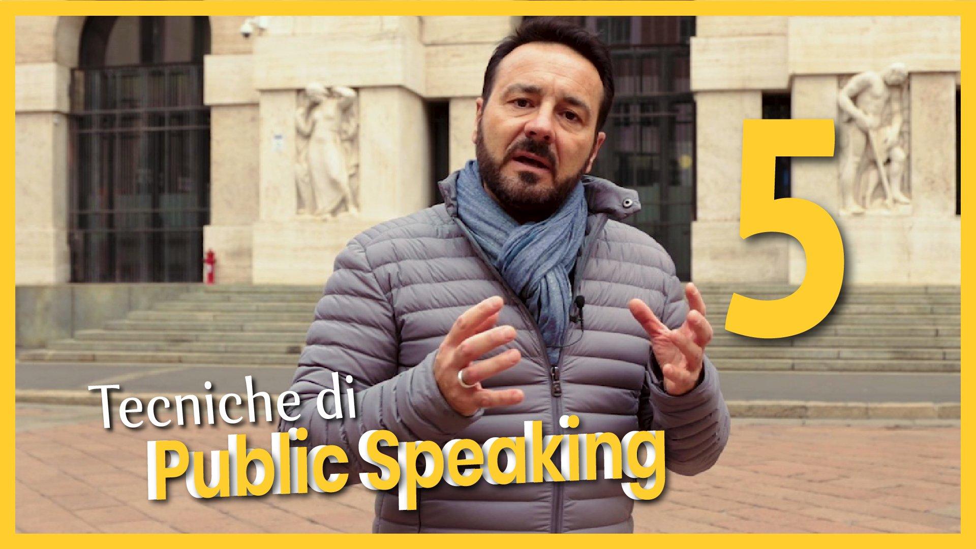 Tecniche di Public Speaking 5